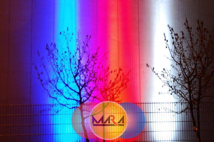 وال واشر های تک رنگ در توان ها و رنگ های مختلف شرکت مشکات الکترونیک پارسیان