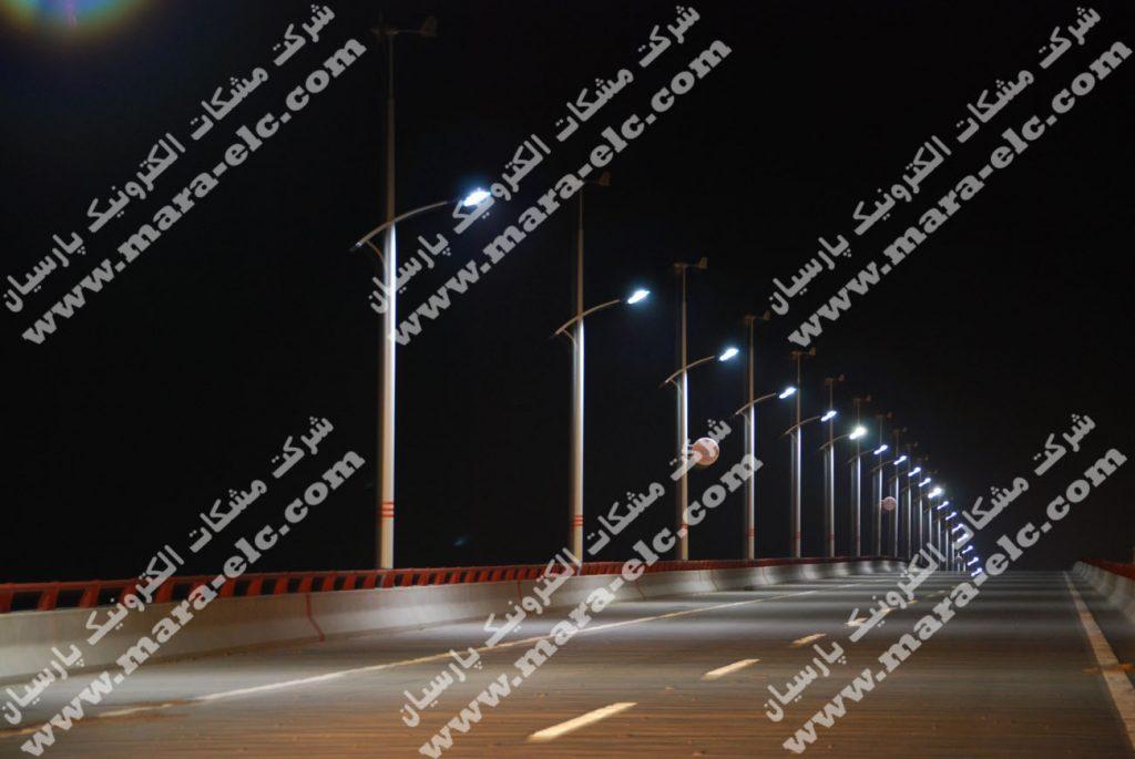 تامین روشنایی پل