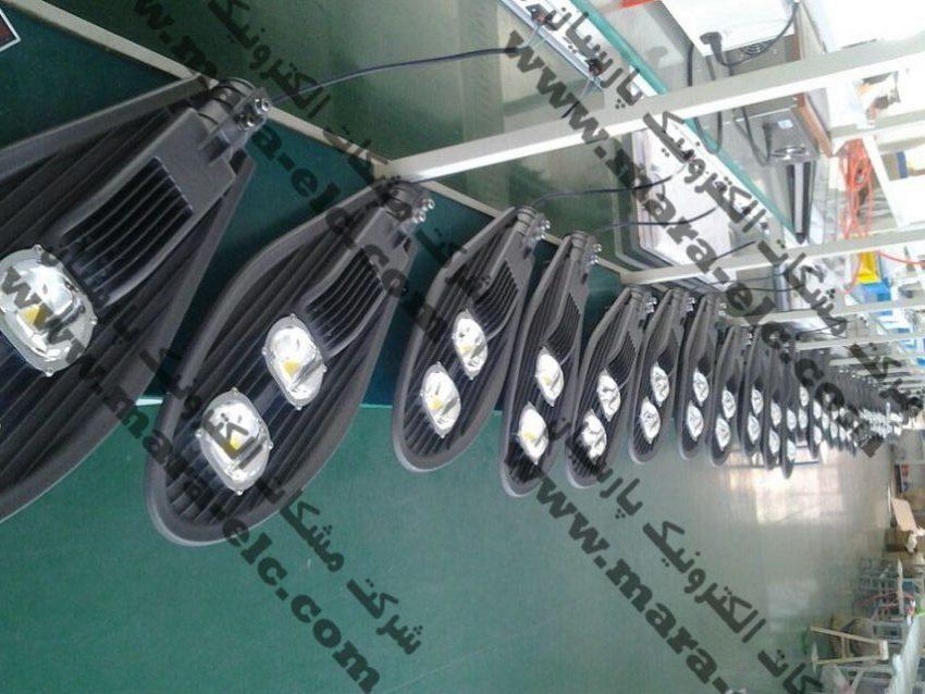 تست چراغ های خیابانی COB LED
