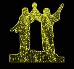 نماد ولایت امام علی علیه السلام به صورت LED ویژه عید غدیر مناسب نصب در میادین ، روی پایه چراغ ، کنار معبر و ...