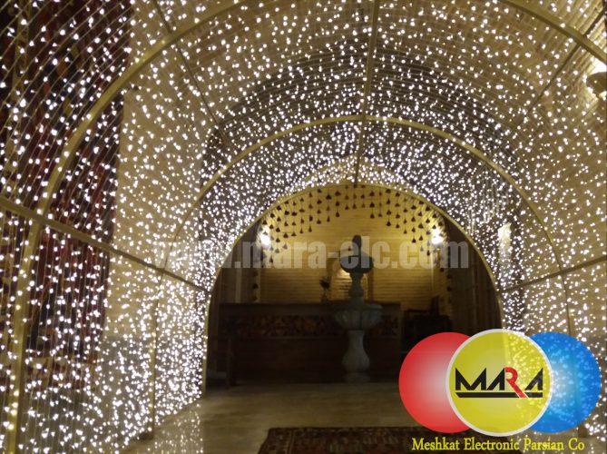تونل نور آفتابی