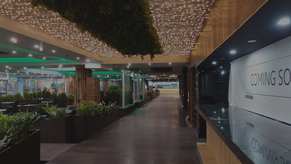 نور پردازی فود کور، رستوران، هایپر در اصفهان وسایر نقاط ایران